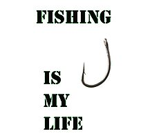 Fishing life Photographic Print