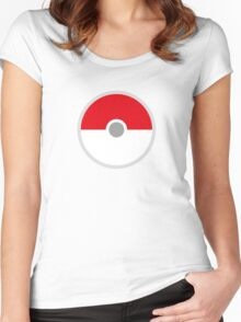 Pokeball x Pokemon Go Women's Fitted Scoop T-Shirt