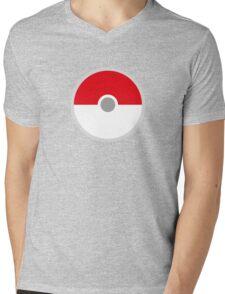 Pokeball x Pokemon Go Mens V-Neck T-Shirt
