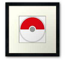 Pokeball x Pokemon Go Framed Print