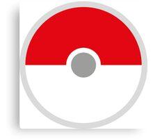 Pokeball x Pokemon Go Canvas Print