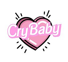 ♡CRYBABY heart♡ Photographic Print