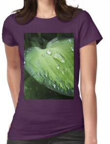 Hosta Womens Fitted T-Shirt