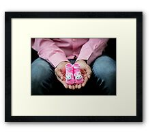 expecting baby  Framed Print