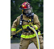 firefighter Photographic Print