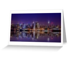 New York City Pixelart Greeting Card
