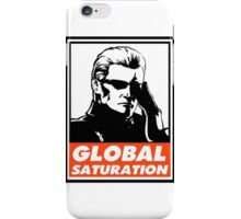 Wesker Global Saturation Obey Design iPhone Case/Skin