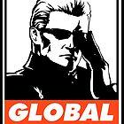 Wesker Global Saturation Obey Design by SquallAndSeifer