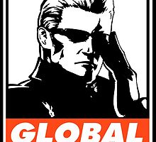 Wesker Global Saturation Obey Design by SquallAndSeifer