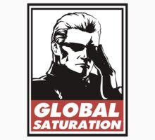 Wesker Global Saturation Obey Design Kids Clothes