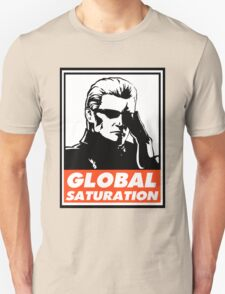 Wesker Global Saturation Obey Design Unisex T-Shirt