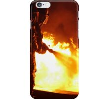 firefighters helped battle a wildfire iPhone Case/Skin