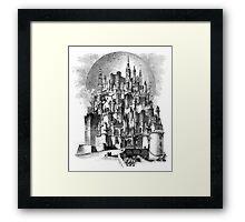 The Castle of Gormenghast Framed Print