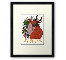 Keyleth Framed Print