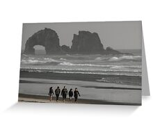 Can't Get Enough Of The Oregon Coast ©  Greeting Card
