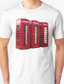Red Phoneboxes T-Shirt