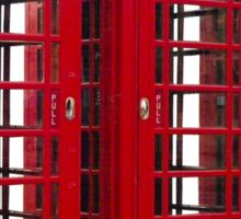 Red Phoneboxes Sticker