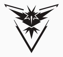 Pokémon Go: Team Instinct - black One Piece - Short Sleeve