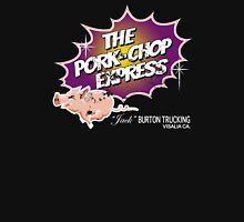 Pork Chop Express - Distressed Purple/Yellow Variant Unisex T-Shirt