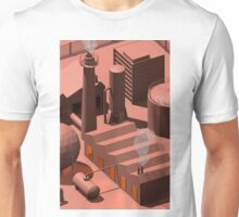 Low Poly Industry Unisex T-Shirt