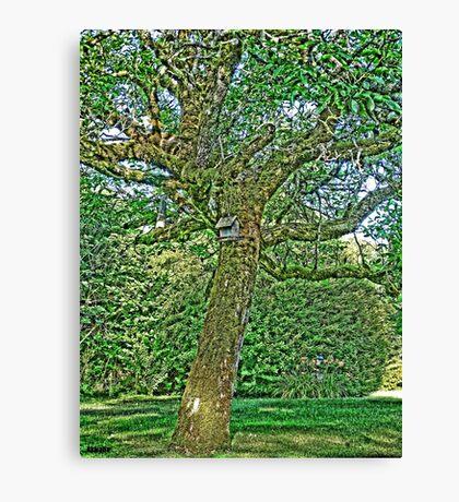 Walt Disney Tree Canvas Print