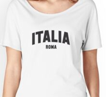 ITALIA ROMA Women's Relaxed Fit T-Shirt