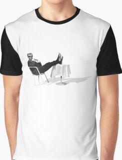 Marcello Mastroianni takin' it easy Graphic T-Shirt