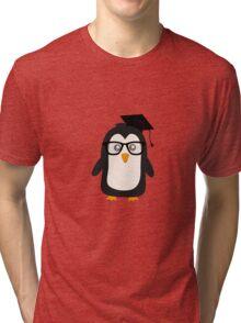 Penguin nerd Tri-blend T-Shirt