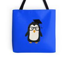 Penguin nerd Tote Bag