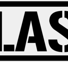 Las Vegas airport destination stamp Sticker