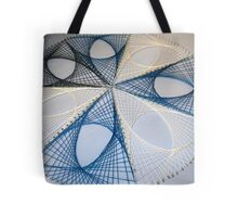 Overlapping Calculus Curves Tote Bag