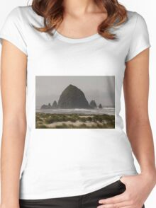 This Beach Is A Rockin' ©  Women's Fitted Scoop T-Shirt