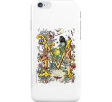 "The Illustrated Alphabet Capital  M  ""Getting personal"" iPhone Case/Skin"