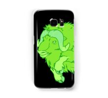 Leaping Lime Musk-ox Samsung Galaxy Case/Skin