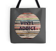 Vinyl Addict records Tote Bag