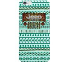 Aztec Jeep Pattern iPhone Case/Skin