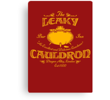 The Leaky Cauldron Bar & Inn Canvas Print