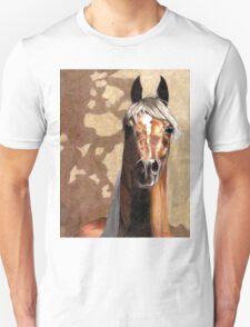 Arabian Horse Portrait  Unisex T-Shirt