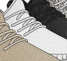 Adidas Yeezy Cartoon Sticker