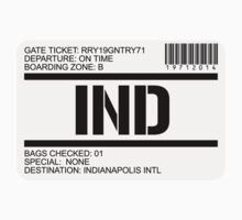 Indianapolis airport destination stamp by GentryRacing