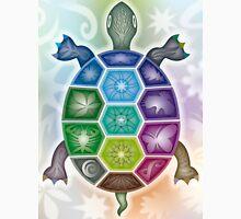Rainbow Turtle   Regenbogen-Schildkröte Unisex T-Shirt