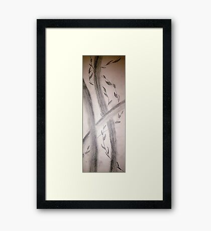 Sumi-E Section Framed Print