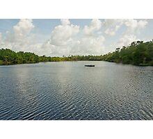 Morning at Alligator Lake  Photographic Print