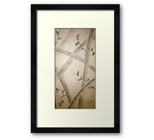 Sumi-E From All Angles Framed Print