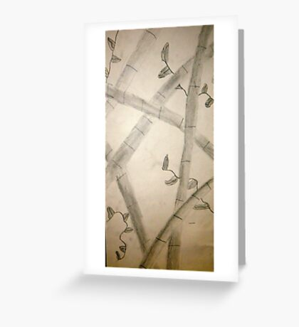 Sumi-E From All Angles Greeting Card