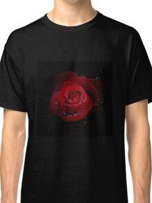 Rose in black Classic T-Shirt
