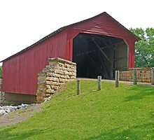 Mary's River Covered Bridge by Graeme  Hyde