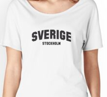 SVERIGE STOCKHOLM Women's Relaxed Fit T-Shirt