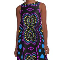 Eternal Rave Love A-Line Dress