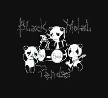 Black Metal Pandas Unisex T-Shirt